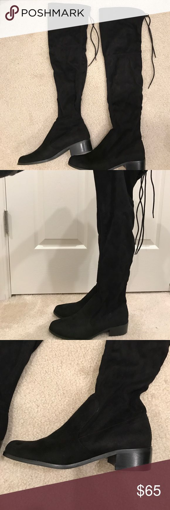 Charles by Charles David OTK suede boot (New!) New Charles by Charles David over the knee suede boot. No box. Charles David Shoes Over the Knee Boots