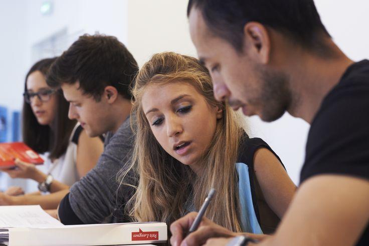 Paris Langues' students - Etudiants à Paris Langues