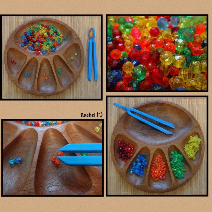 """Simple bead sorting from Rachel ("""",)"""