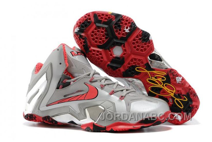 Buy Nike LeBron 11 Elite \u201cTeam\u201d Wolf Grey/Crimson-Cool Grey-Black For Sale  from Reliable Nike LeBron 11 Elite \u201cTeam\u201d Wolf Grey/Crimson-Cool Grey-Black  For ...
