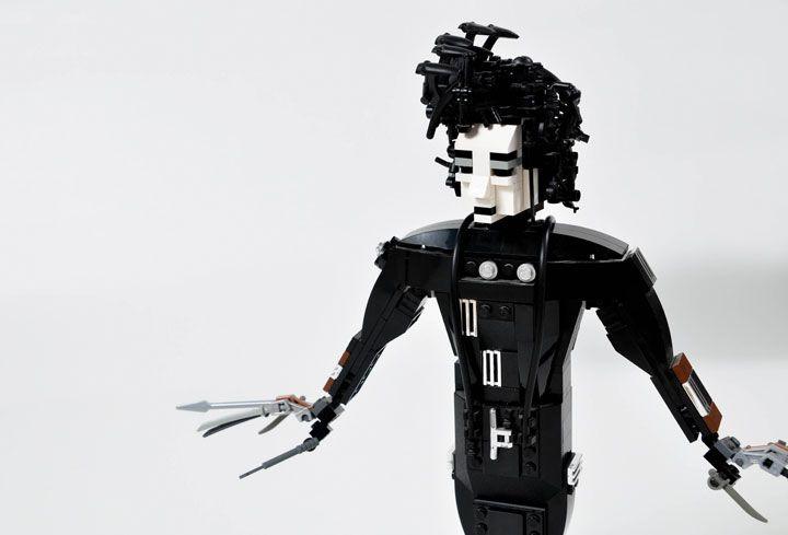 Un passionné crée des sculptures super réalistes des icônes de la pop culture avec des LEGO