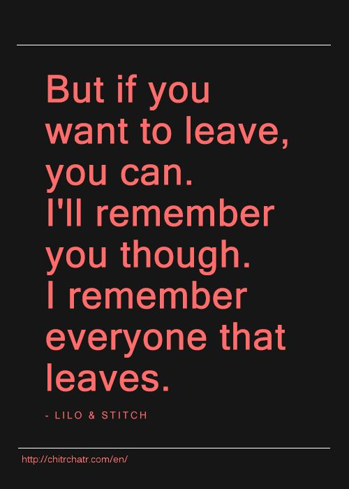 how to leave someone you love but can& 39