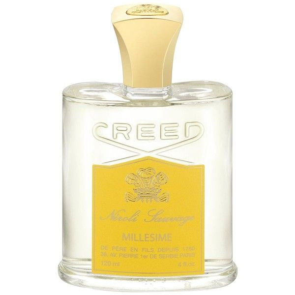 Creed Neroli Sauvage 4 oz. (24.620 RUB) ❤ liked on Polyvore featuring beauty products, fragrance, no color, creed fragrance, creed perfume, flower fragrance, flower perfume and citrus fragrances