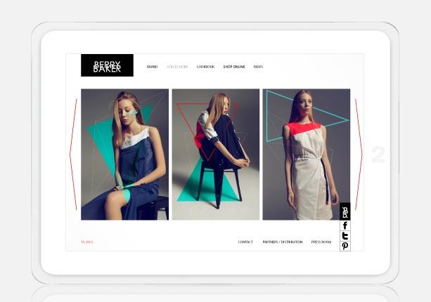 website design for http://berrybaker.com/