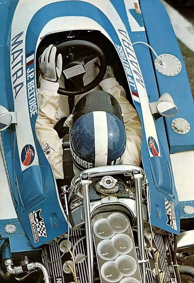 "frenchcurious: "" Jean-Pierre Beltoise (Matra) - UK Racing History. """