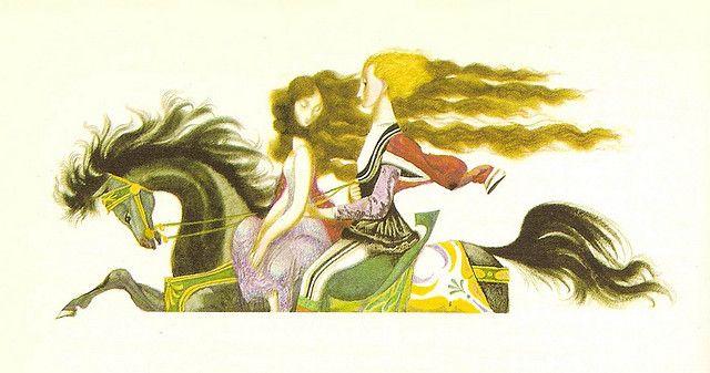 Jiri Trnka (Conte d'Andersen - LES CYGNES SAUVAGES - Elisa et son prince) | Flickr – Condivisione di foto!