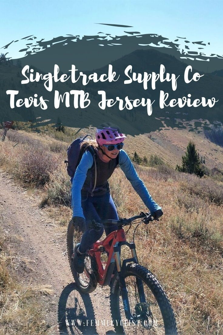 Singletrack Supply Co Tevis Mtb Jersey Review With Images
