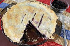 This easy and perfectly delicious mulberry pie is the best I have ever tasted and very simple to make.                                                                                                                                                                                 More