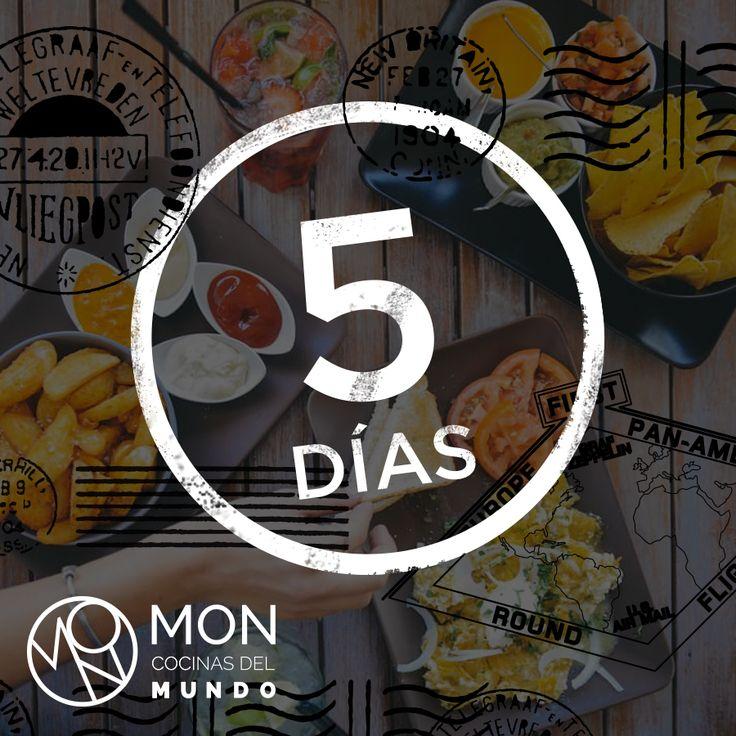 5 days to start a gastronomic journey through the world. MON Cocinas Del Mundo, located on the ground floor at the new Hotel Las Américas Golden Tower.   http://lasamericasgoldentower.com/restaurantes-estrella-michelin-panama/mon-cocinas-del-mundo/