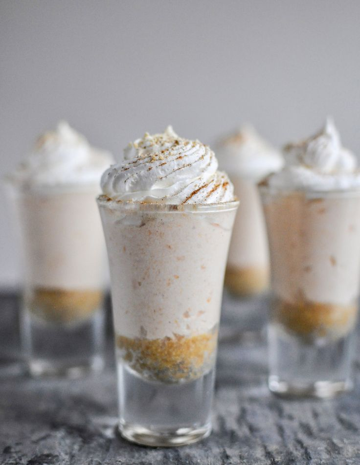 You may have had sweet potato pie, but have you ever tried a spud-based cheesecake? It may seem unusual, but one bite of this scrumptious mini-dessert will convince you that different can be delicious. Whip up these easy, autumnal shooters to ring in the school year and the start of a new season.  Get the recipe at howsweeteats.com. Jessica Merchant  - Redbook.com