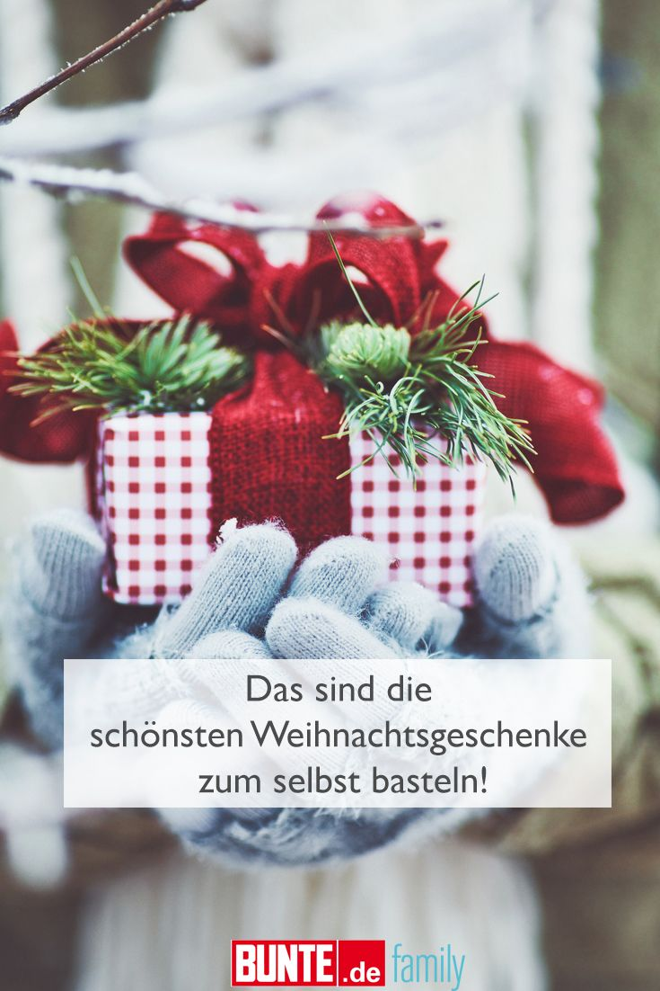 Die Schönsten Weihnachtsgeschenke.Diy Ideen Die Schönsten Weihnachtsgeschenke Sind Selbst Gebastelt