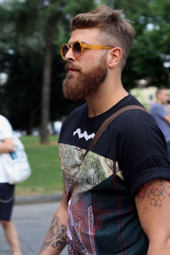 Magnificent 1000 Ideas About Cool Beard Styles On Pinterest Cool Beards Short Hairstyles Gunalazisus