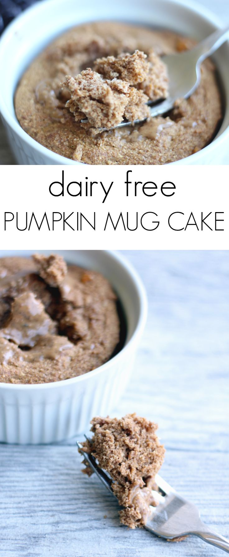 Easy Pumpkin Mug Cake