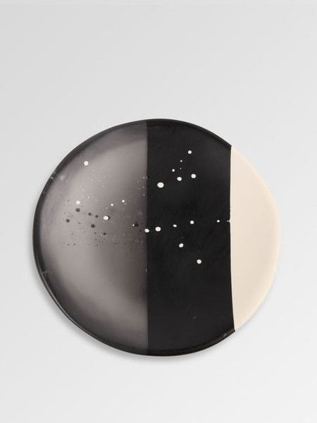 Dinosaur Designs - Circle Dish - Art Range - Black  $102.00