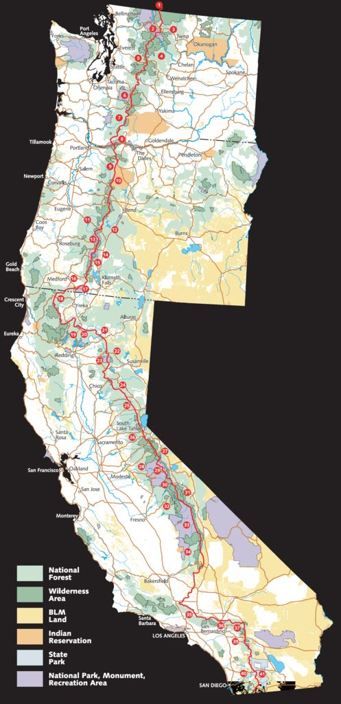 Hike the Pacific Crest Trail (in sections) http://www.heathermullinsowens.com