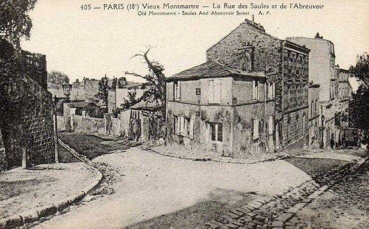 rue de l'Abreuvoir - Paris 18e
