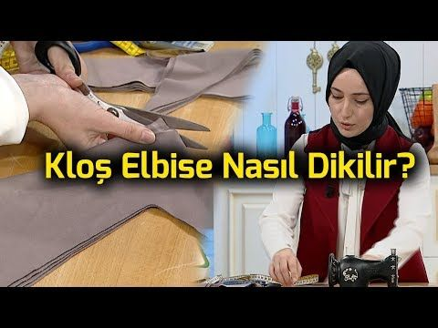Modelistlik, Elde kalıp, Kloş etek, ders / 5 How To Sew a Circle Skirt? - YouTube