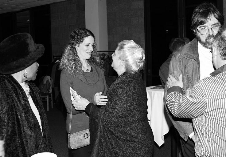 Love and hugs at Mosaica ten years gala