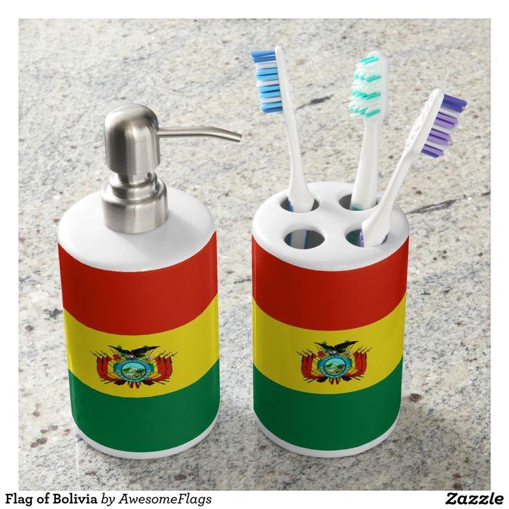 Flag of Bolivia Soap Dispensers