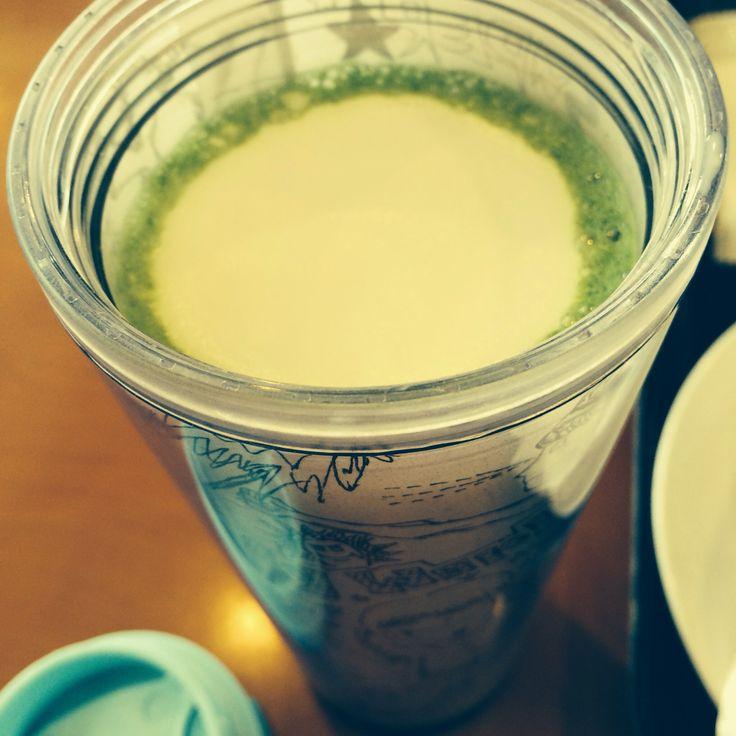 抹茶ティーラテ/オールミルク