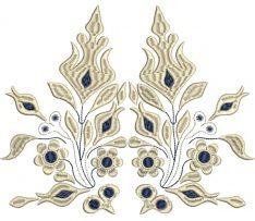Výšivka Očová, béžová, 24 x 20 cm