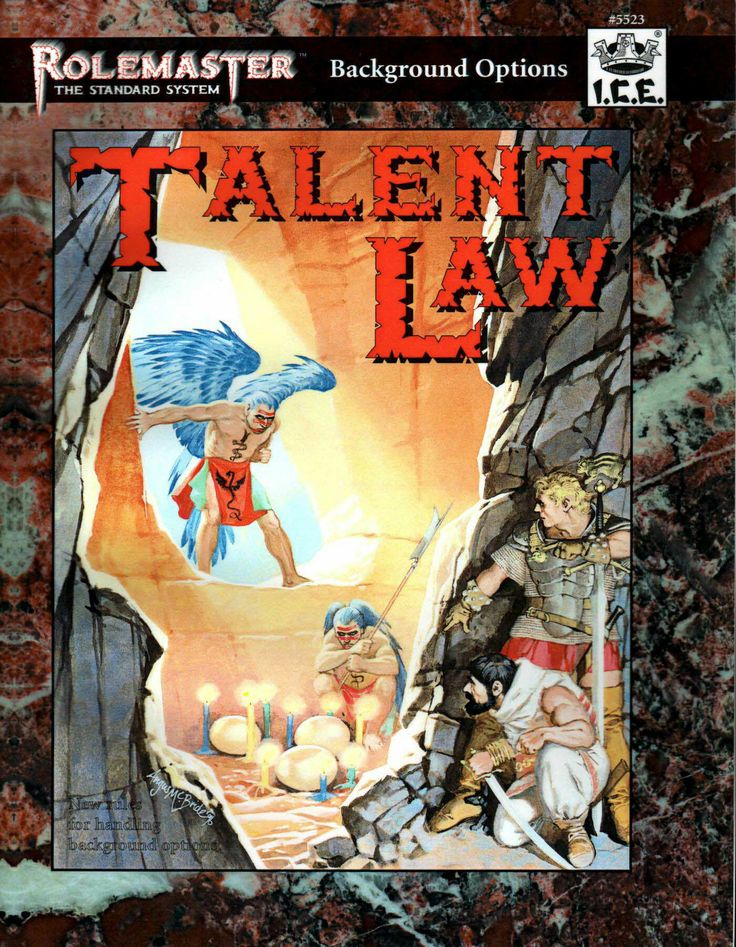Rolemaster - Talent Law