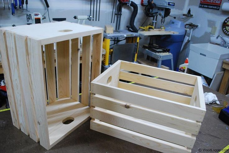 17 best ideas about apple crates on pinterest dog food for Used apple crates