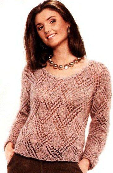 Rebecas, jerseys, suéteres de punto - CLASES -master en la artesanía RUKODELIYU- País