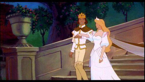 Swan princess-the wedding dress