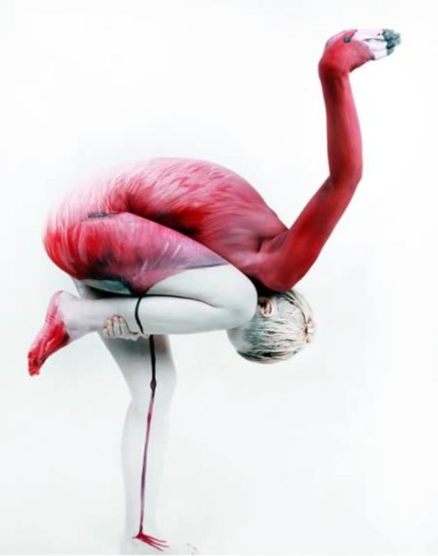 Awesome Body Painting & Contortion (5 Pics)