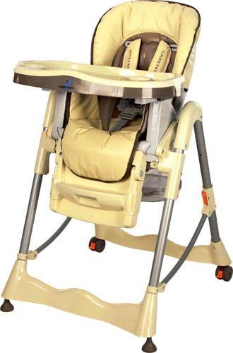 krzesełko do karmienia MAGNUS CLASSIC Cappuccino/high chair MAGNUS CLASSIC Cappuccino