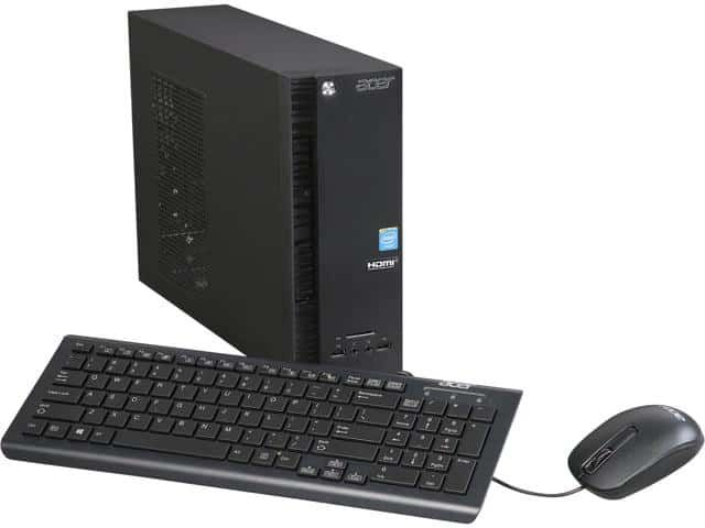 Acer Desktop Computer Aspire XC AXC-704G-UW61 Celeron N3050 eBay HOT Deals Today has the lowest price deal for Acer Desktop Computer Aspire XC AXC-704G-UW61 Celeron N3050 $99. It usually retails for over $199, which makes this a HOT Deal and $50 cheaper than the next best available price. Free...