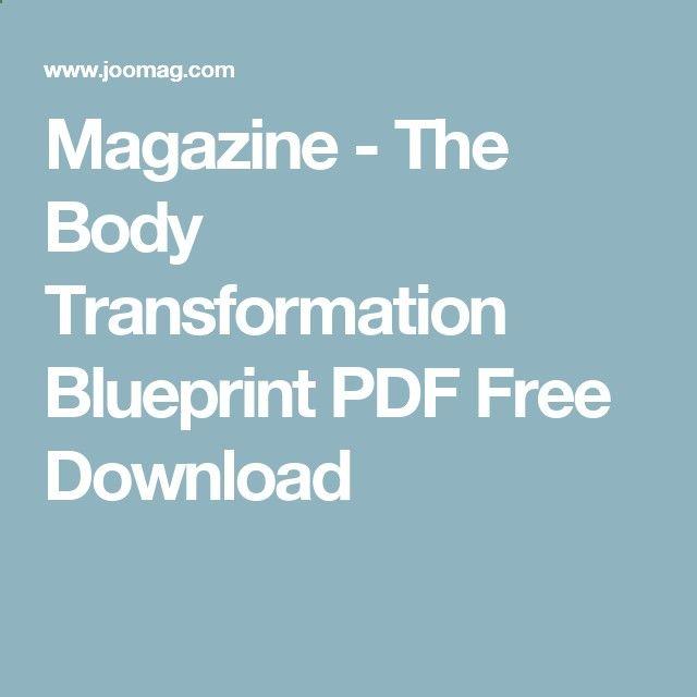 Magazine the body transformation blueprint pdf free download try magazine the body transformation blueprint pdf free download try the entire agr system for men for 60 full days pinterest body transformations malvernweather Gallery