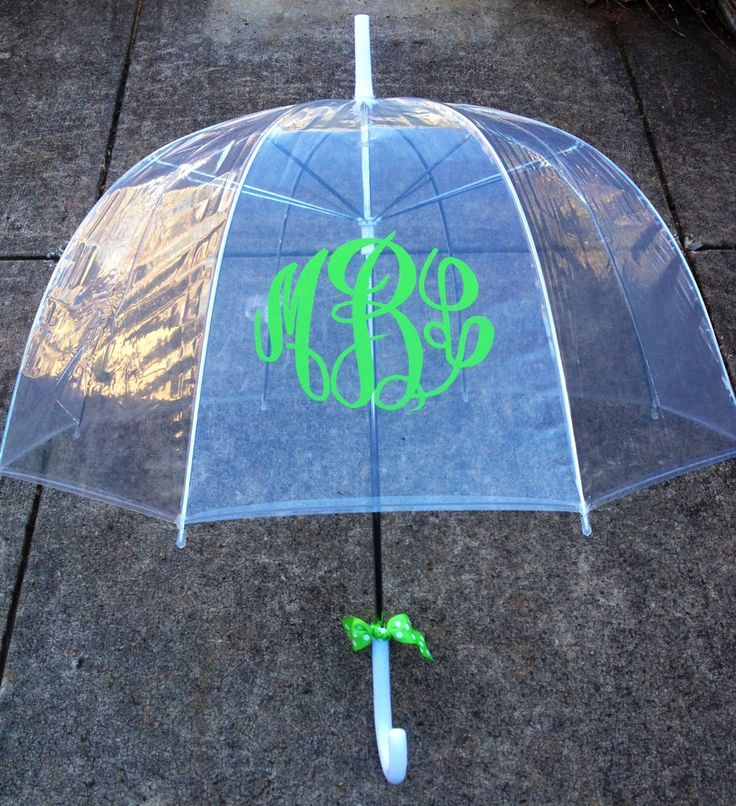 Monogrammed Gift Monogrammed Umbrella by LoveThatMonogram on Etsy, $19.95