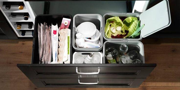 SORTERE SØPPEL: Finner man et godt og velfungerende system er det ikke så vanskelig å sortere søpla.