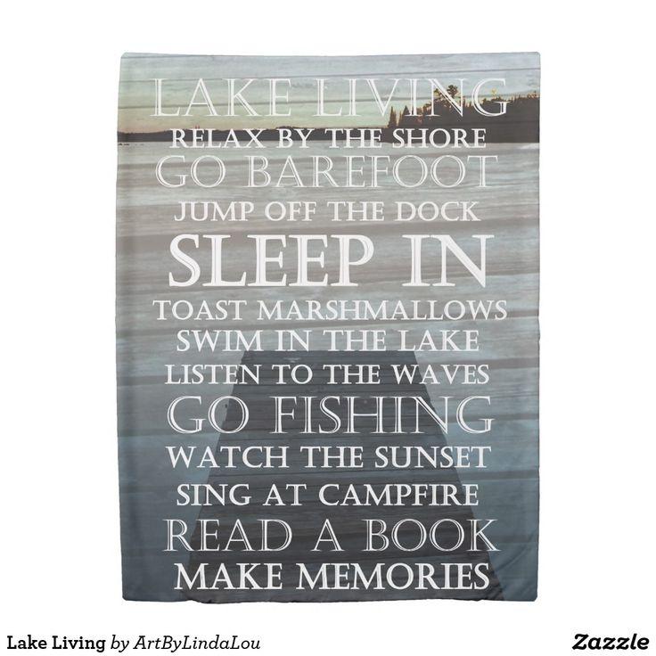 Lake Living Duvet Cover