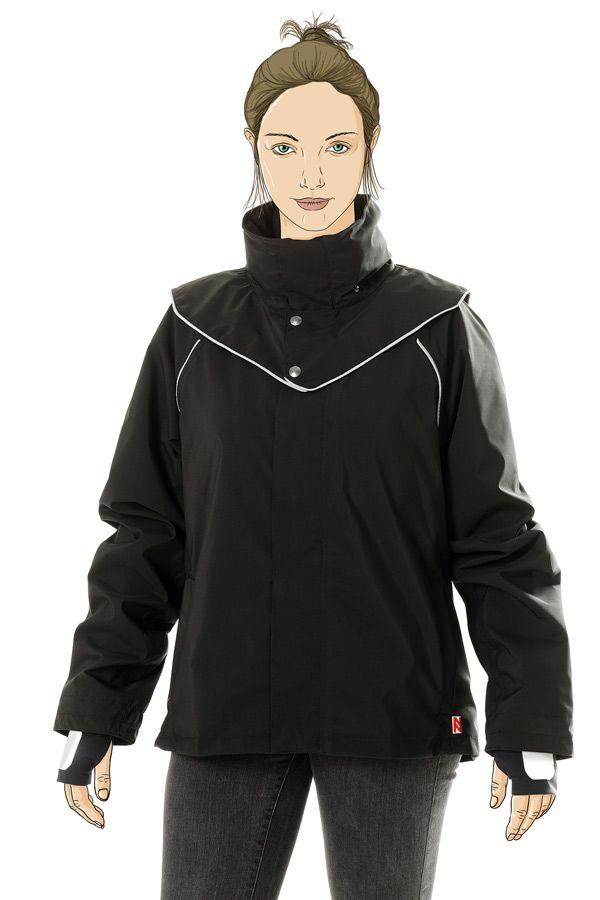 Veste imperméable pour la pratique du vélo, Nixnas, 257€