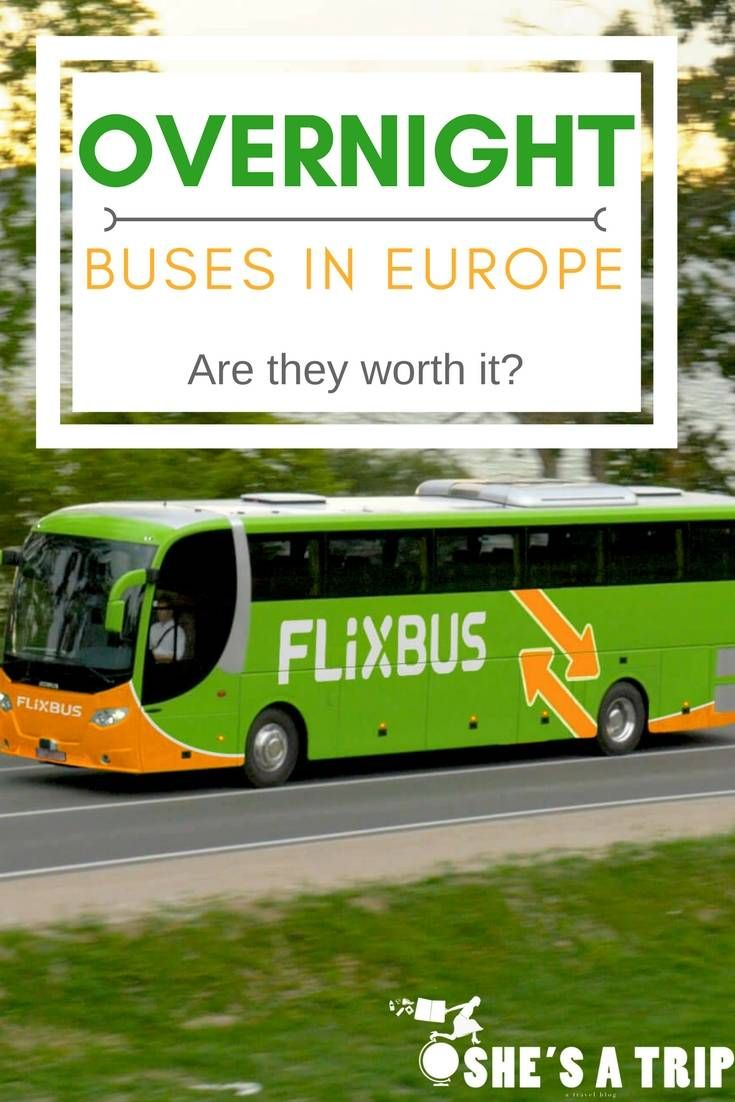 Overnight Buses In Europe The Berlin To Amsterdam Flixbus Bus