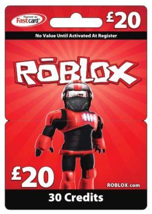 Roblox card 30 credits Roblox gifts Roblox Gift card