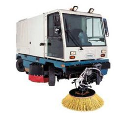 Large area sweeper – SentinelLarge Area Sweeper Sentinel, Broom Sweeper | Godrej Material Handling