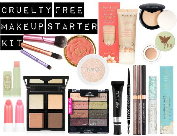 Cruelty Free Makeup Starter Kit And