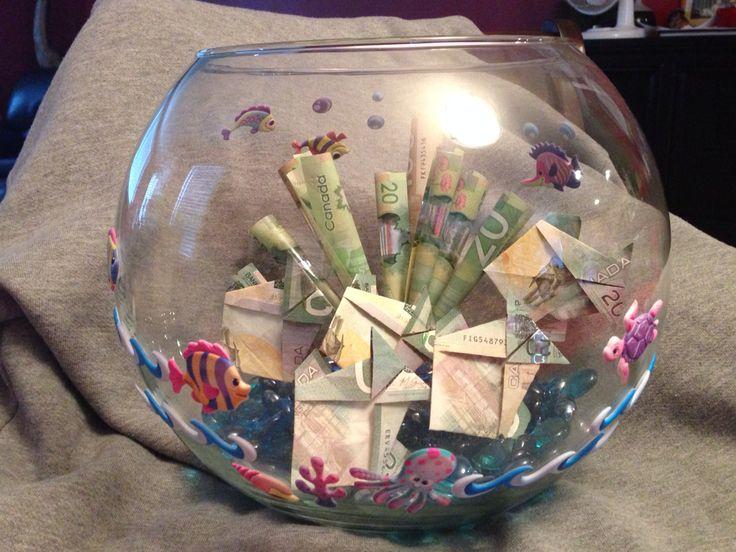 Fish bowl full if cash