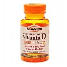 Vitamin D 1000 IU Softgels