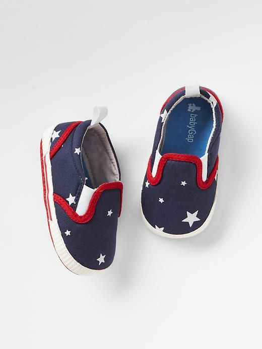 Americana star slip-on sneakers £9 - £5.37