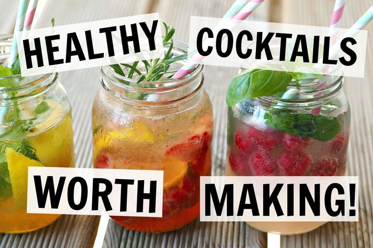 HEALTHY COCKTAILS | AD 4 EASY RECIPES! - https://www.barmasters.com/videos/healthy-cocktails-ad-4-easy-recipes/ #barmasters