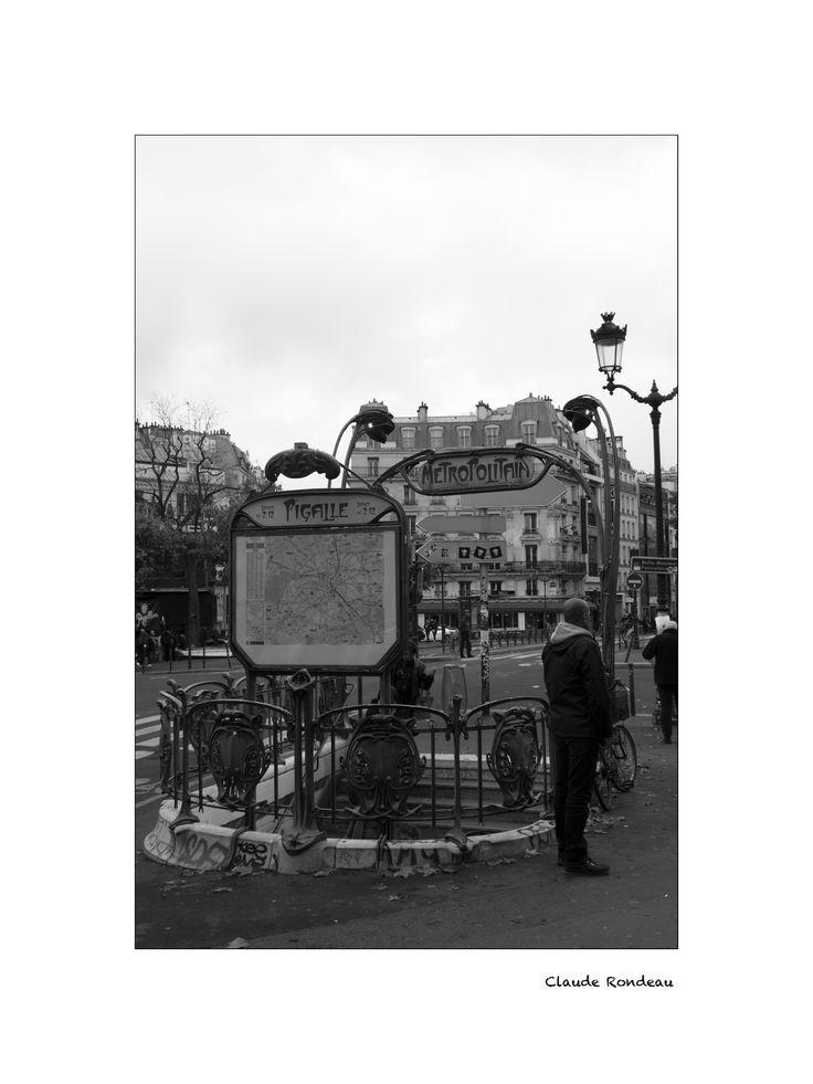 Paris, métro Pigalle