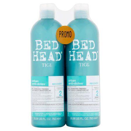 Tigi Bed Head Shampoo And Condtioner Urban Anti Dotes Damage Level 2 Recovery Shampoo And Conditioner 25 36 Fl Oz 2 Pack Walmart Com Bed Head Shampoo Bed Head Shampoo
