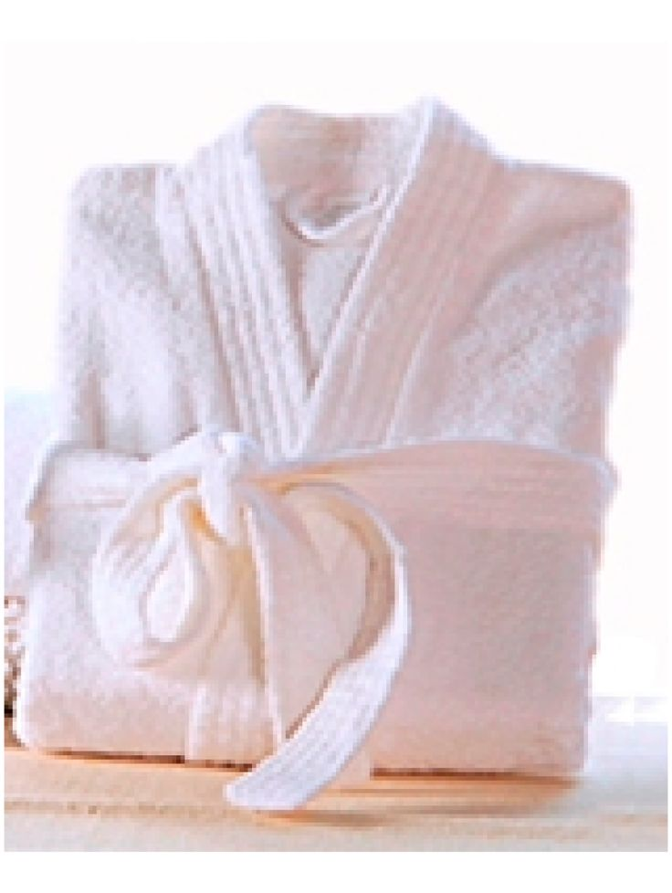 Organic Cotton Bath Robe (White) Buy here: http://www.vegalyfe.com/organic-cotton-bath-robe-white.html