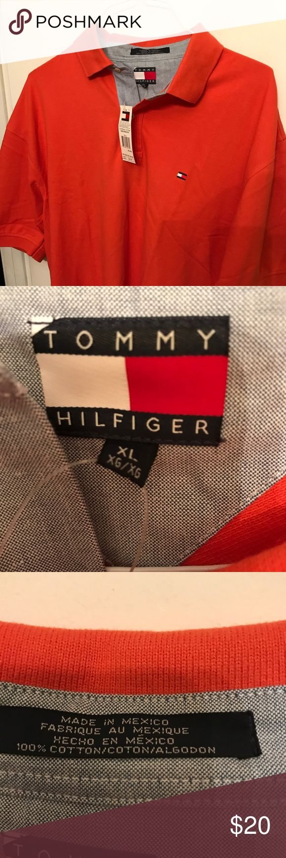 M XL Tommy Hilfiger polo shirt brand-new! Brand spanking new Tommy Hilfiger shirt in excellent condition. No rips tears or stains. Tommy Hilfiger Shirts Polos