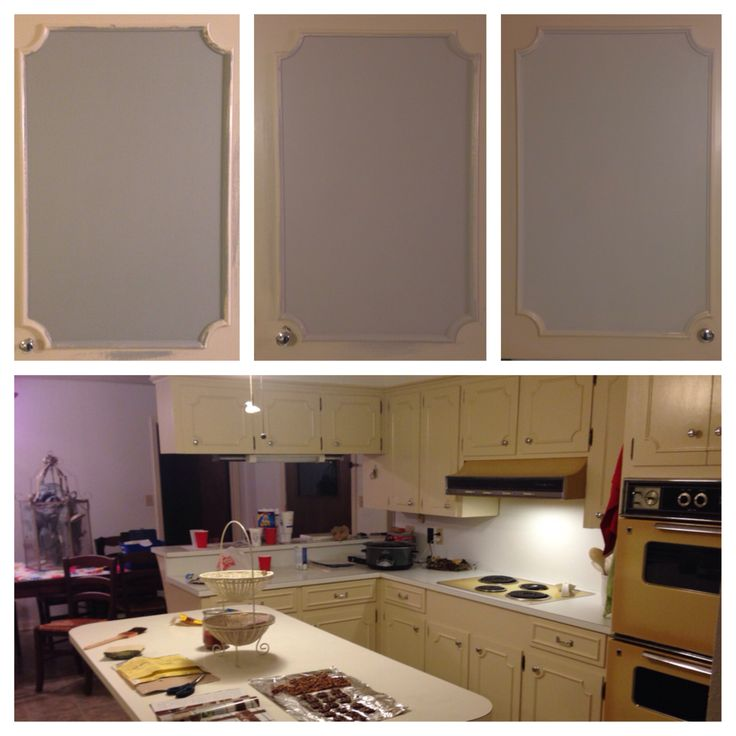 Free Kitchen Cabinet Samples: The Three Paint Colors We Decided To Sample